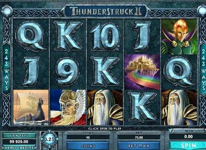 Thunderstruck II Game Image